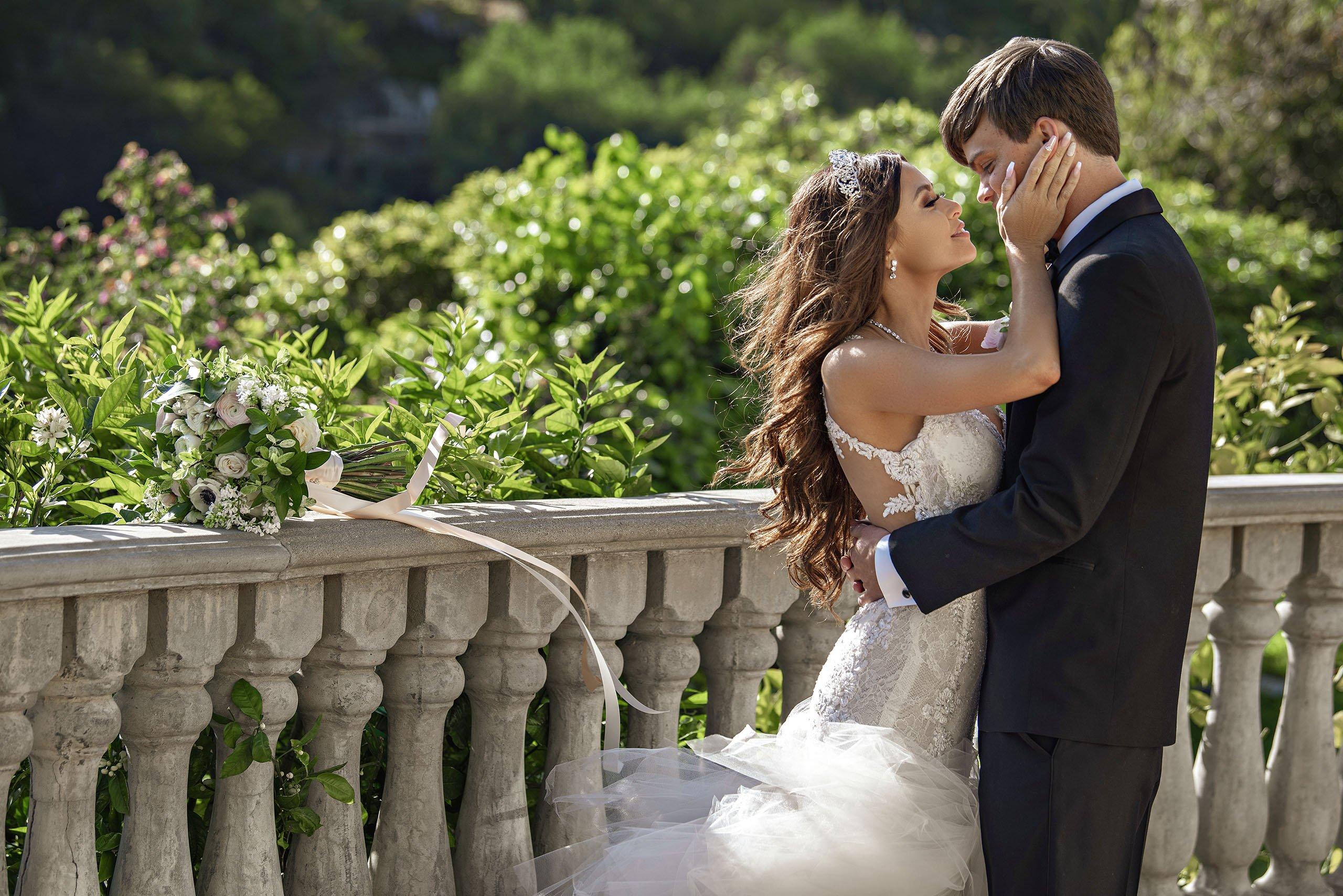 Bel Air Bay Club Wedding Photos